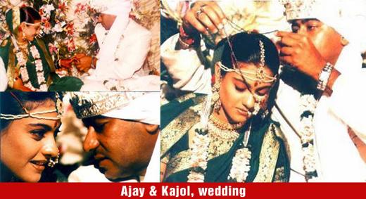 Ajay Devgn And Kajol Wedding Day
