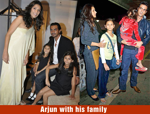 Rampal Family Arjun Rampal And His Family