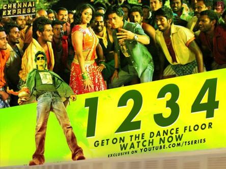 One Two Three Four 1 2 3 4 Bollywood Song Lyrics Translations