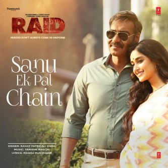 Sanu Ek Pal Chain - Bollywood Song Lyrics Translations