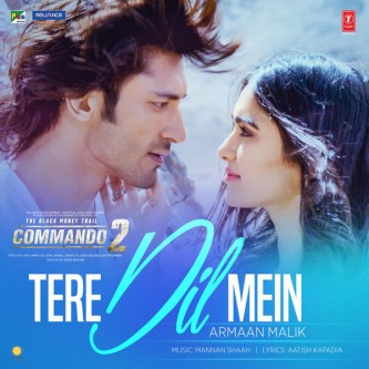 tere dil mein commando 2 video song download
